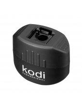 Точилка для косметических карандашей (черная матовая, с одним лезвием), Kodi