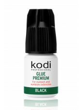 Клей для бровей и ресниц Premium Black, 3г., Kodi